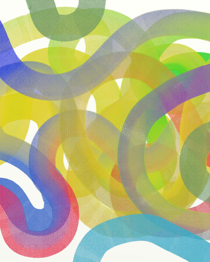 Abstract hand drawn watercolor background royalty free illustration