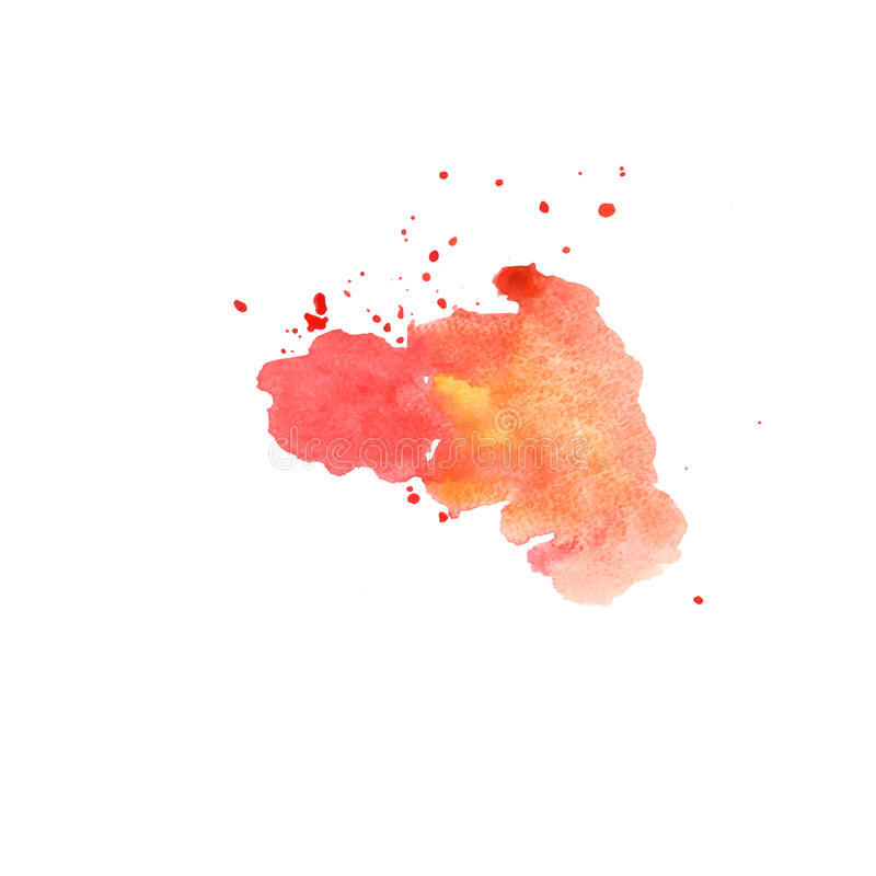 Abstract hand painted watercolor background royalty free illustration