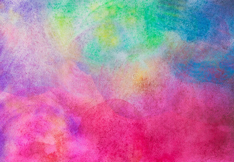 Abstract hand painted watercolor on painting paper background an. D texture royalty free stock photos