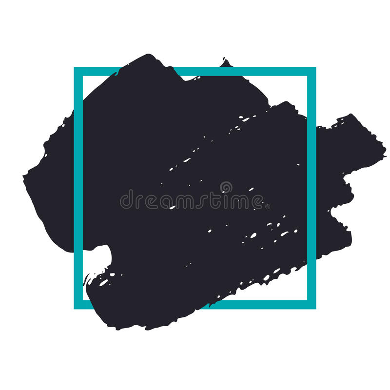 Abstract handdrawn background. stock illustration