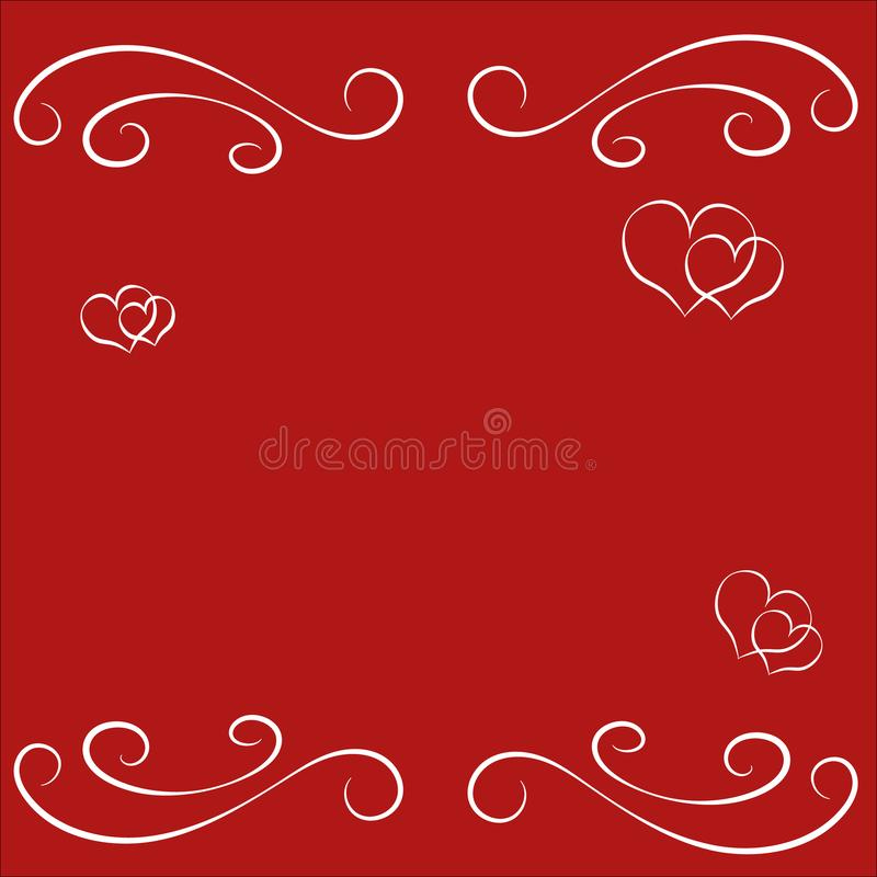 Abstract happy valentine day empty border frame for greeting card download abstract happy valentine day empty border frame for greeting card invitation letter and other stopboris Images
