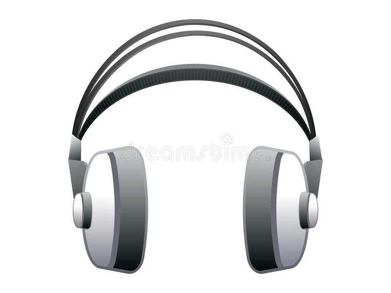 Download Abstract headphone icon stock vector. Image of single - 24417047