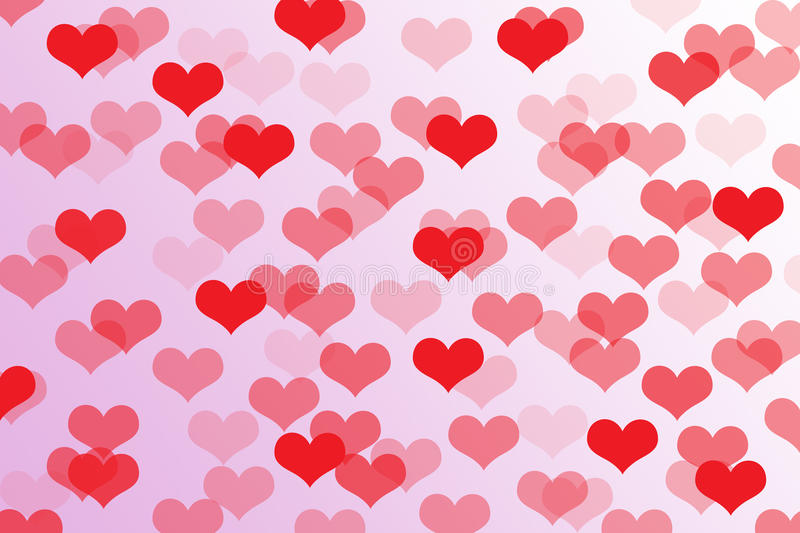 Abstract Heart Shape On Background,Clipart. Stock ...