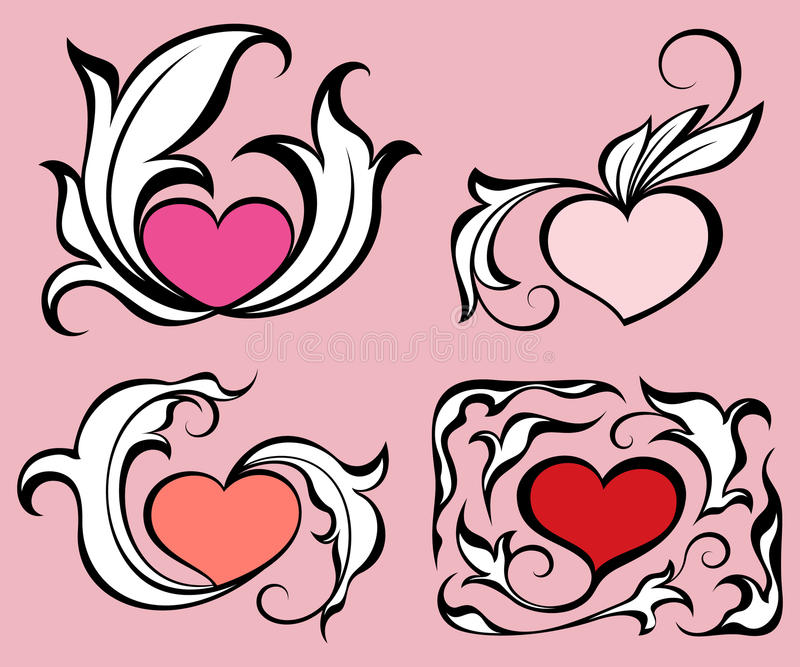 Download Abstract hearts stock vector. Illustration of painting - 19161495
