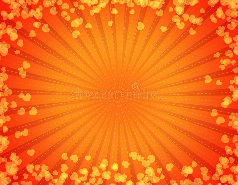 Abstract hearts background royalty free stock photography