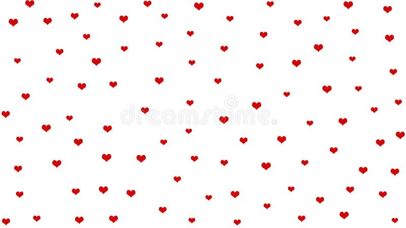 Abstract hearts concept for valentines day stock photo