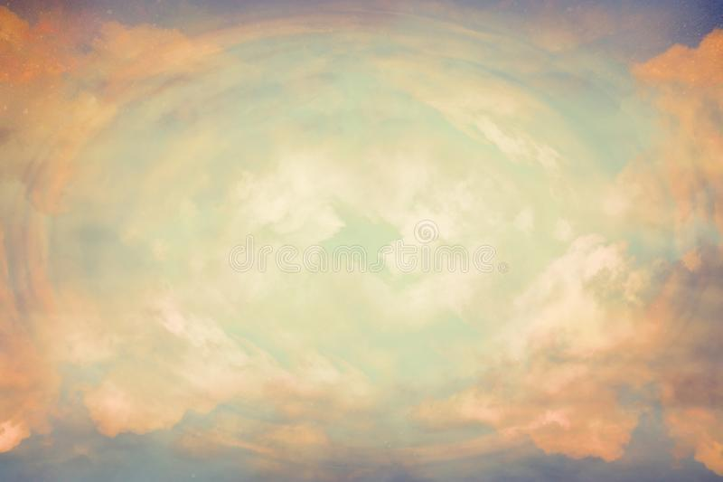 Abstract heavenly background, light from heaven. Revelation concept royalty free stock images