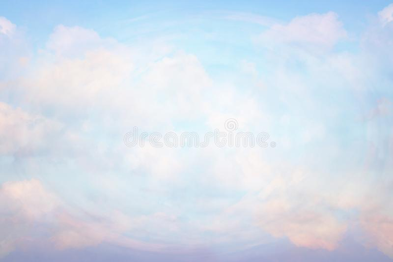 Abstract heavenly background, light from heaven. Revelation concept royalty free stock image