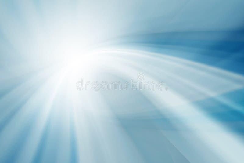Abstract het gloeien blauw als achtergrond royalty-vrije illustratie