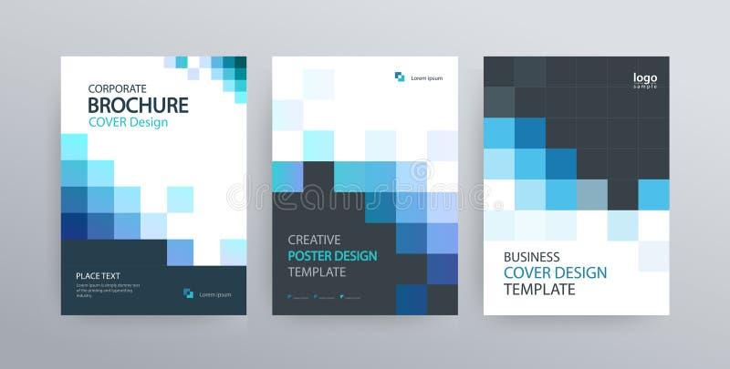 Abstract het ontwerpmalplaatje van de affichedekking voor brochure, vlieger, tijdschrift, jaarverslag stock illustratie