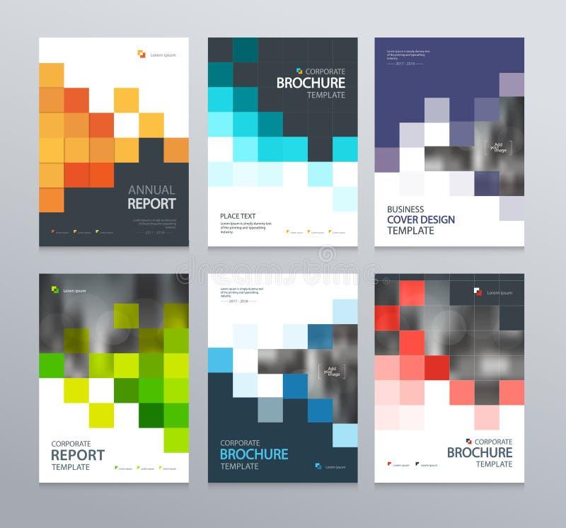 Abstract het ontwerpmalplaatje van de affichedekking voor brochure, vlieger, tijdschrift, jaarverslag, vector illustratie