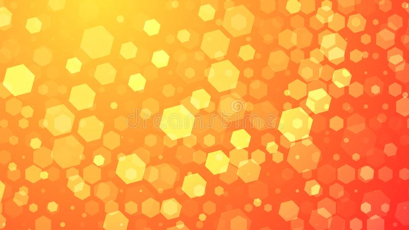 Abstract Hexagon background. Abstract white Hexagons vector illustration