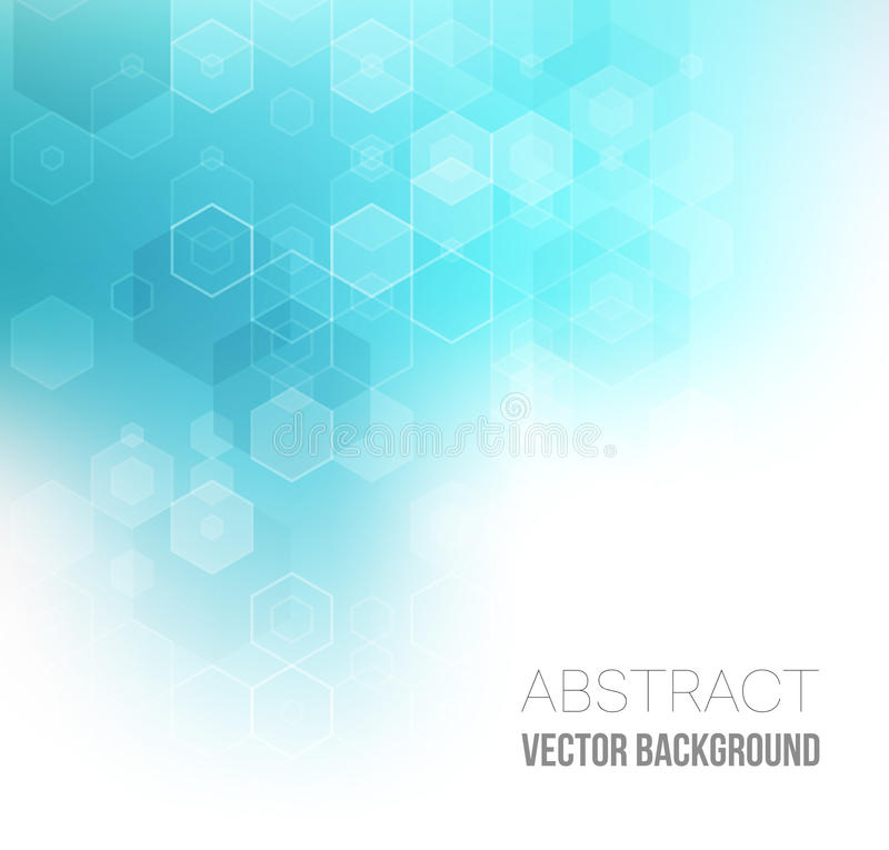 Abstract Hexagonal Background. Vector royalty free illustration