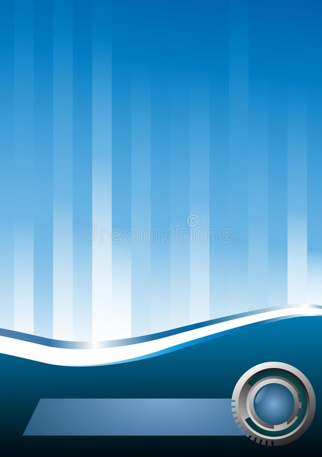 Free Abstract Hi-tech Blue Background Royalty Free Stock Images - 14654399
