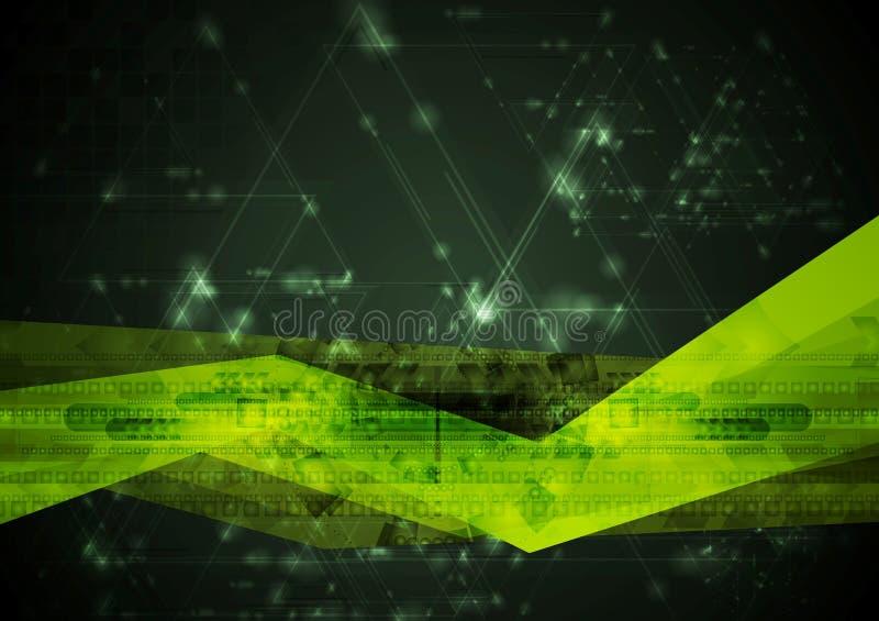 Abstract hi-tech vector illustration vector illustration