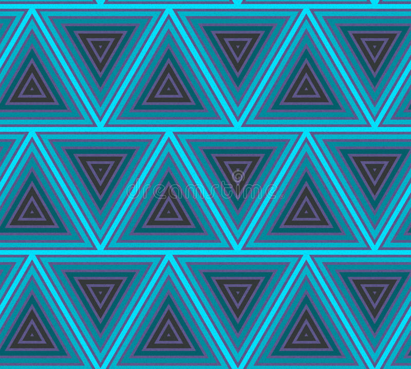 Abstract hipster poligon triangle background. Seamless pattern stock illustration