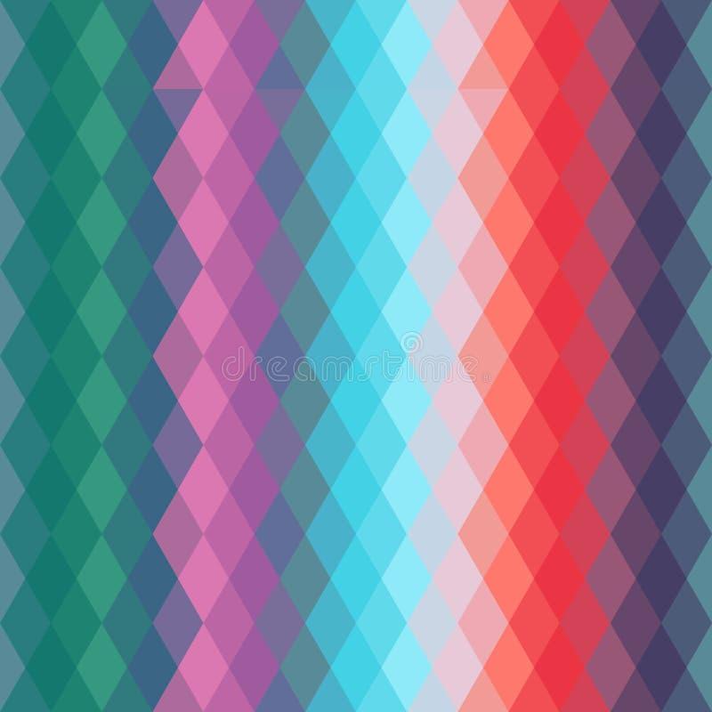 Abstract hipsters naadloos patroon met helder vector illustratie
