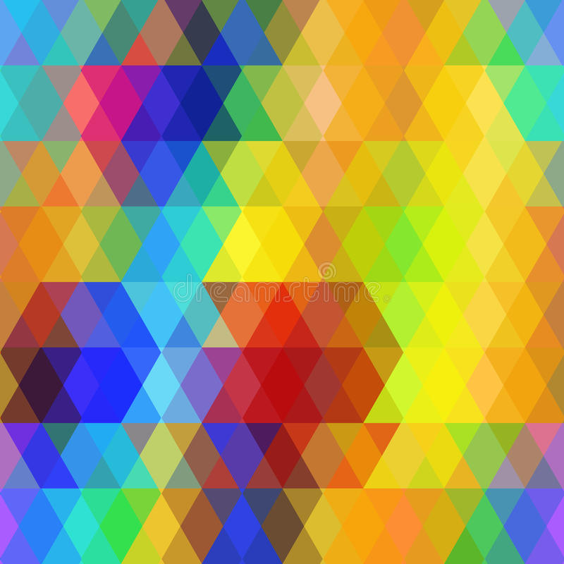 download abstract hipsters seamless pattern with bright rainbow color rhombus geometric background vector stock - Rainbow Color