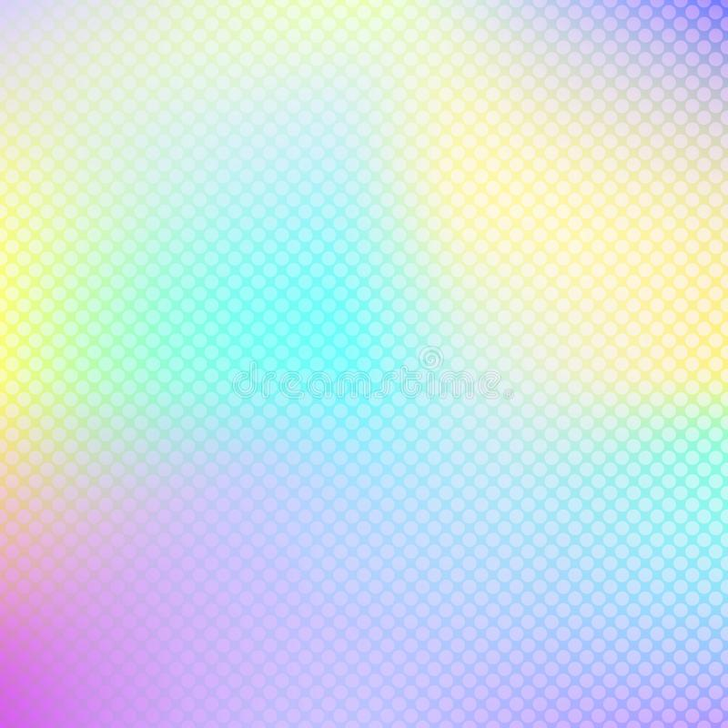 Abstract holographic background. Hologram for design banners, websites. stock illustration