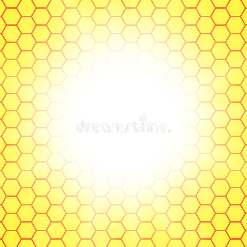 Abstract honeycomb background. blurry light. Effects. Vector. EPS10 vector illustration