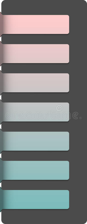 Abstract Horizontal Banners Template Royalty Free Stock Photo