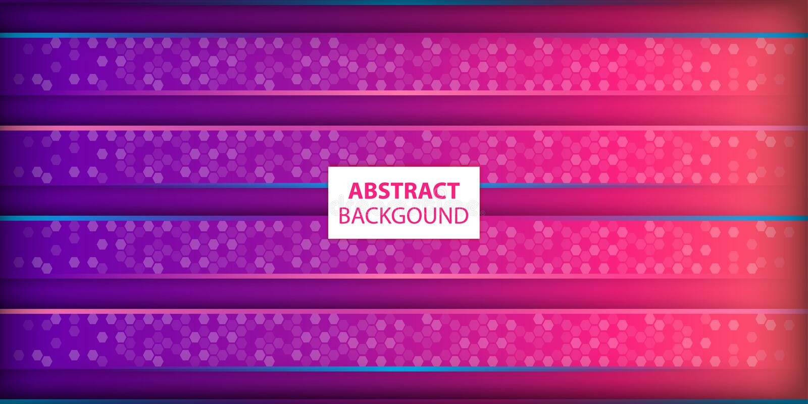 Abstract horizontal line blue and magenta background royalty free illustration
