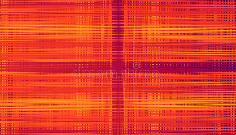 Abstract horizontal and vertical plaid gradient pucker and bloat tangle. colorful beautiful background design. vector illustration. Abstract horizontal and royalty free stock photos