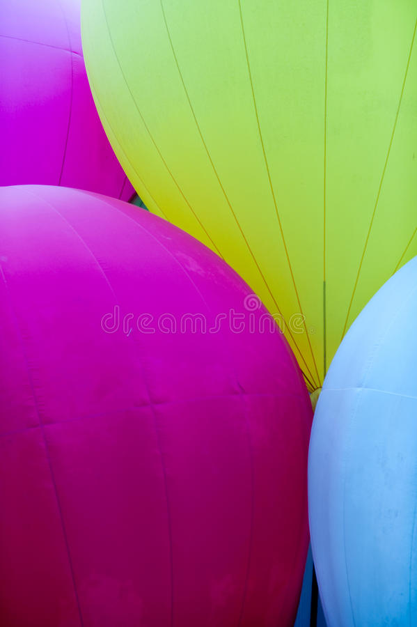 Free Abstract Hot Air Balloons II Stock Photography - 13882222