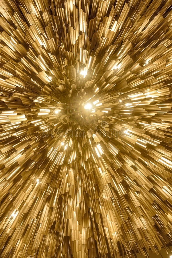 Abstract Hotel Lighting royalty free stock images
