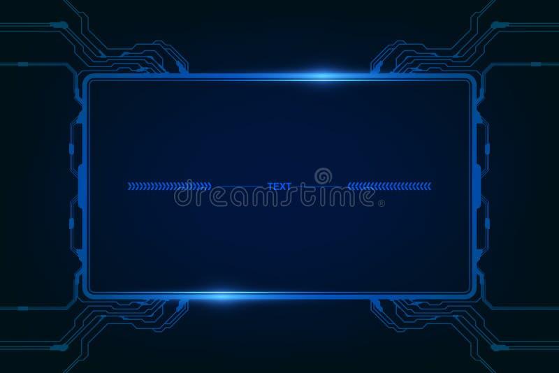 Abstract hud ui gui future futuristic screen system virtual design. vector illustration eps10. Abstract. background. future futuristic. screen. system virtual vector illustration