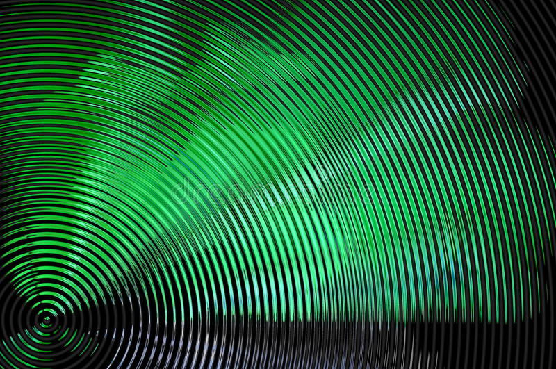 Abstract hypnotic background stock illustration