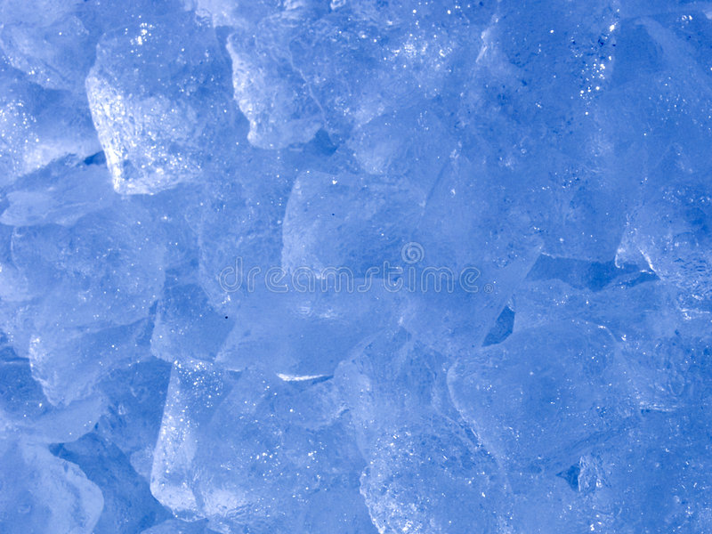 Abstract Ice Stock Photo