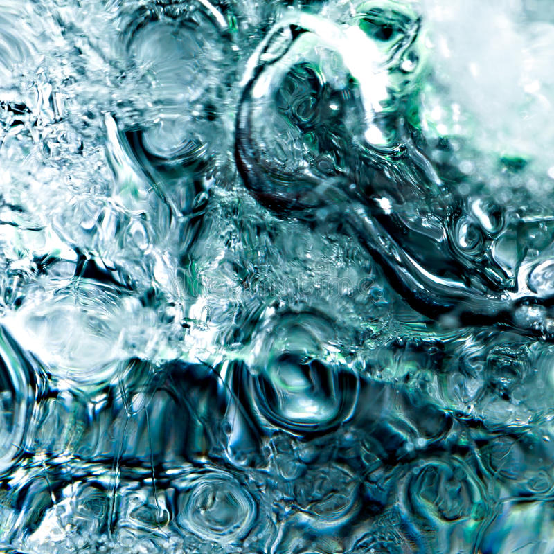 Abstract ice cube texture stock images
