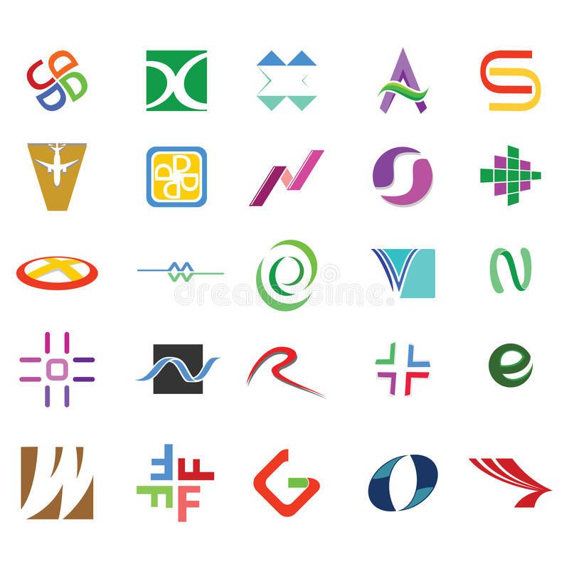 Abstract icons and Symbols