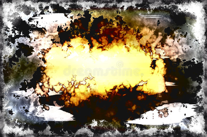 Abstract illustrated grunge background pattern. For your text stock illustration