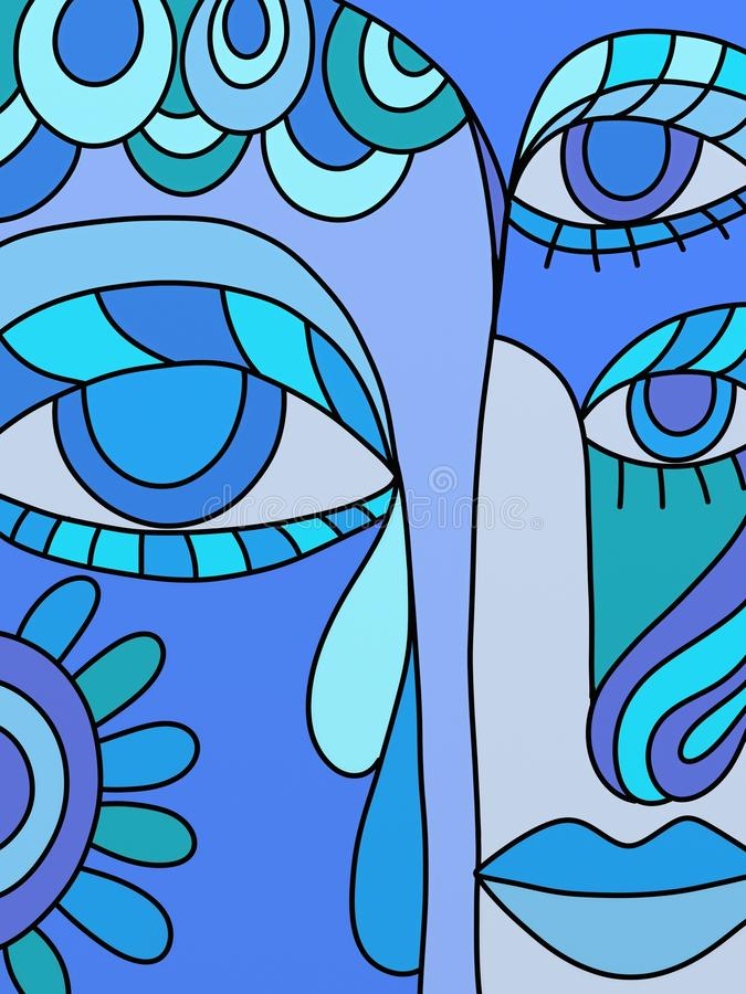 Download Abstract illustration stock illustration. Image of abstract - 16840047