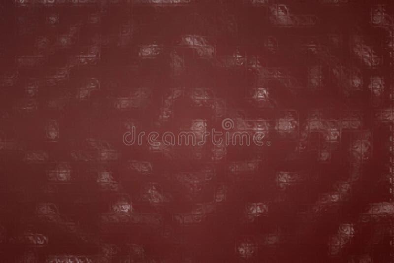 Abstract illustration of Acajou colorful Mosaic through glass bricks background, digitally generated. Abstract illustration of Acajou colorful Mosaic through stock photos