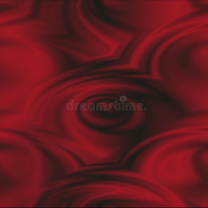 Abstract Swirling Red Roses background vector illustration