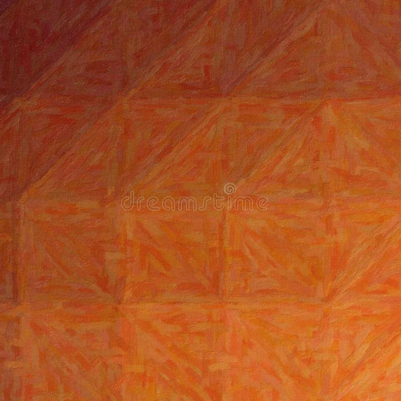 Abstract illustration of Square brown Impasto with color variations background, digitally generated. royalty free illustration