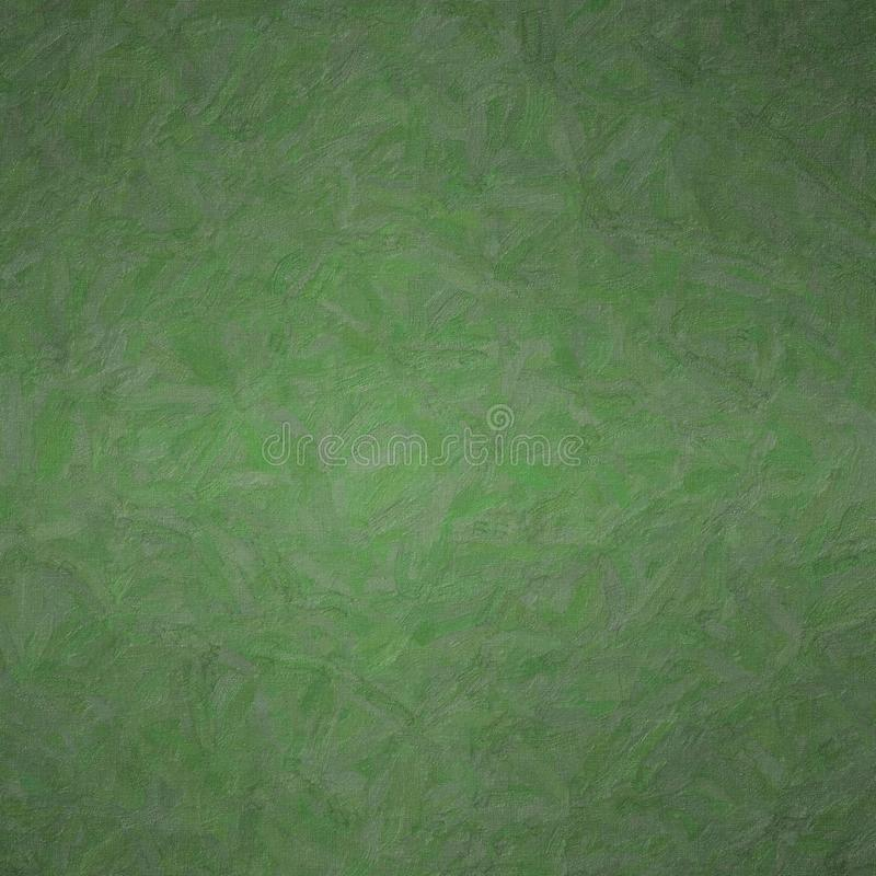 Abstract illustration of Square Dark Jungle Green Impasto with color variations background, digitally generated. royalty free stock image
