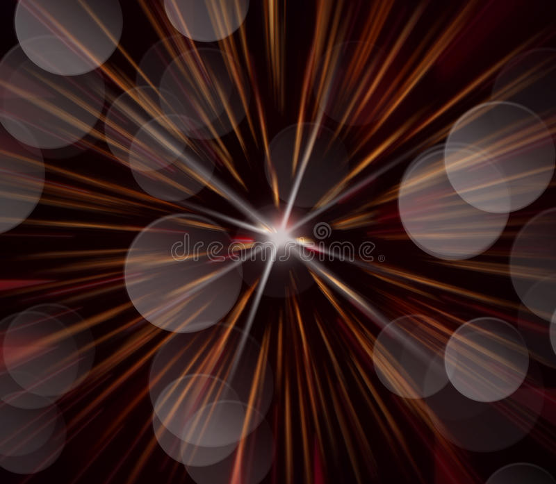 Abstract image, blurred fireworks