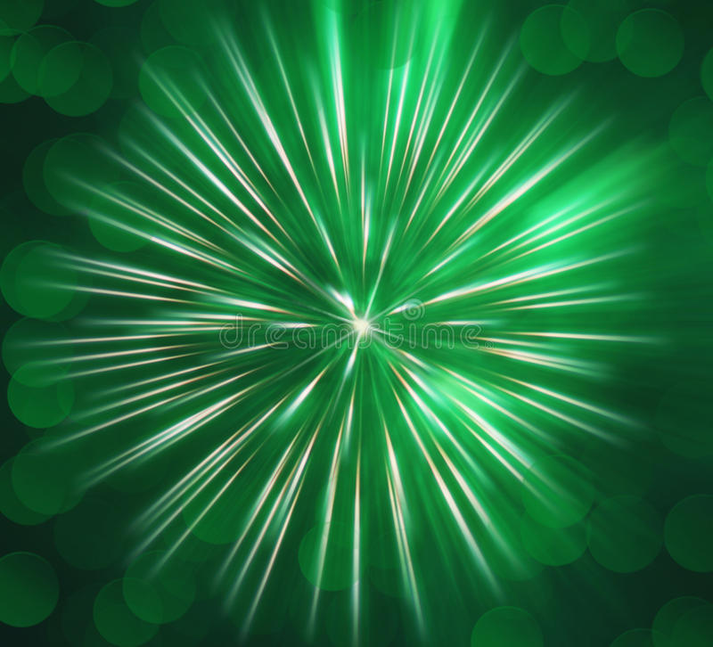 Download Abstract Image, Blurred Green Fireworks Stock Image - Image of exploding, bokeh: 38886547