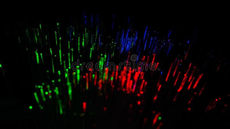Abstract image of Colorful light explode. Chemical color. stock image