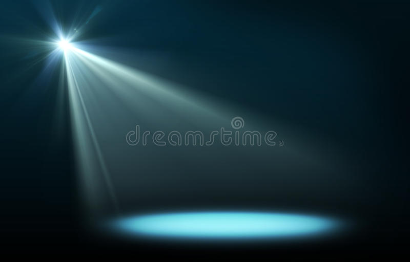 Abstract image of concert lighting vector illustration