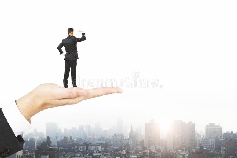 Research and employment concept royalty free stock photos