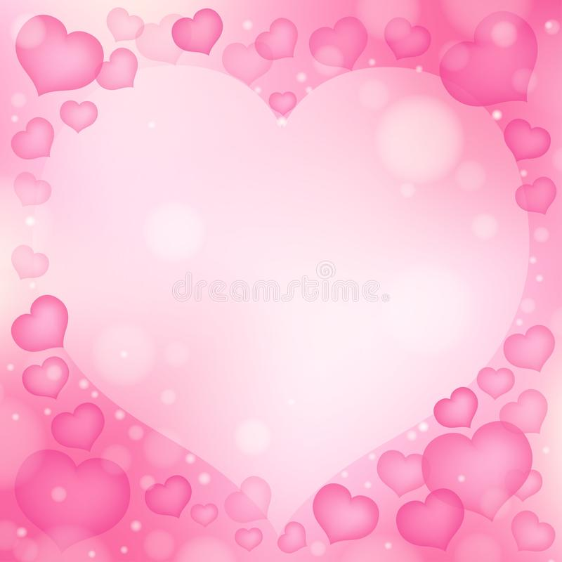 Abstract image with heart theme 1