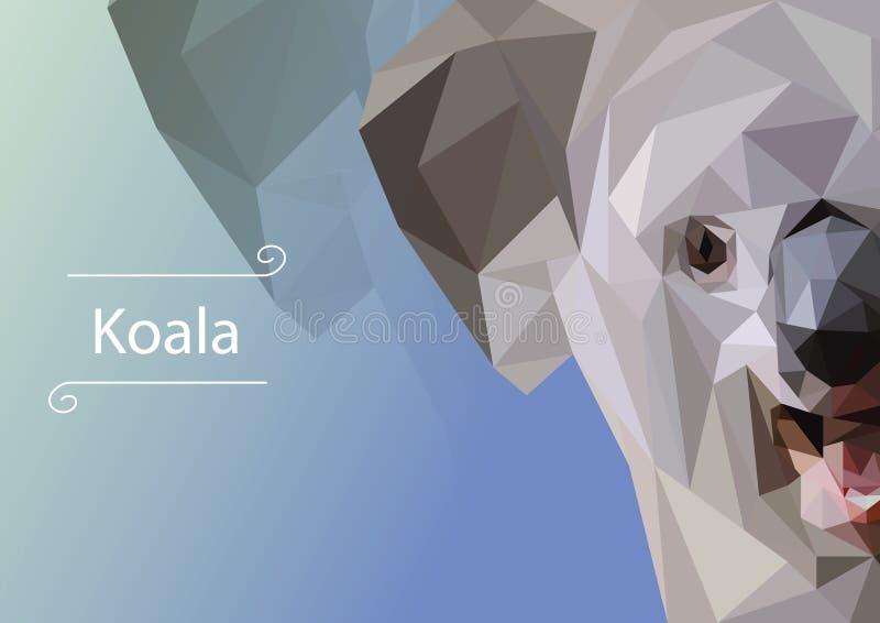 Abstract image of Koala.  illustration. royalty free stock photography