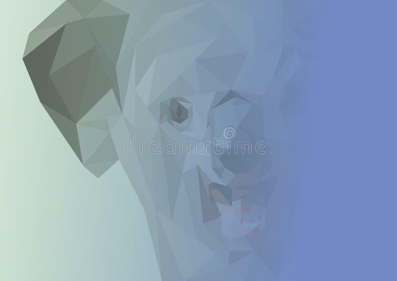 Abstract image of Koala.  illustration. royalty free stock images