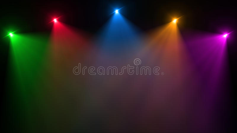 Abstract image of lighting flare stock image