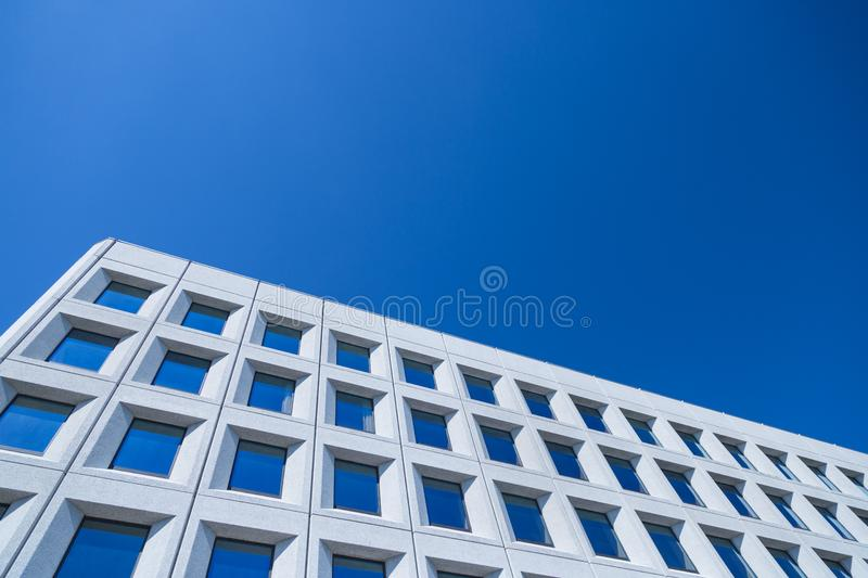 Abstract image of a modern architecture background stock image